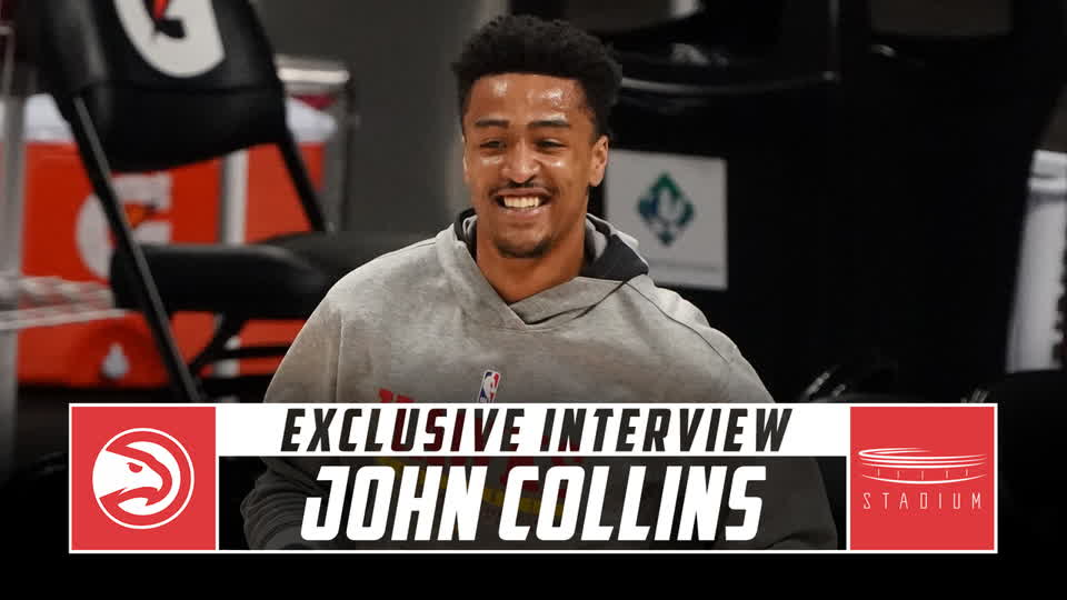 John Collins Talks Future With the Hawks, Trae Young Partnership With Shams Charania