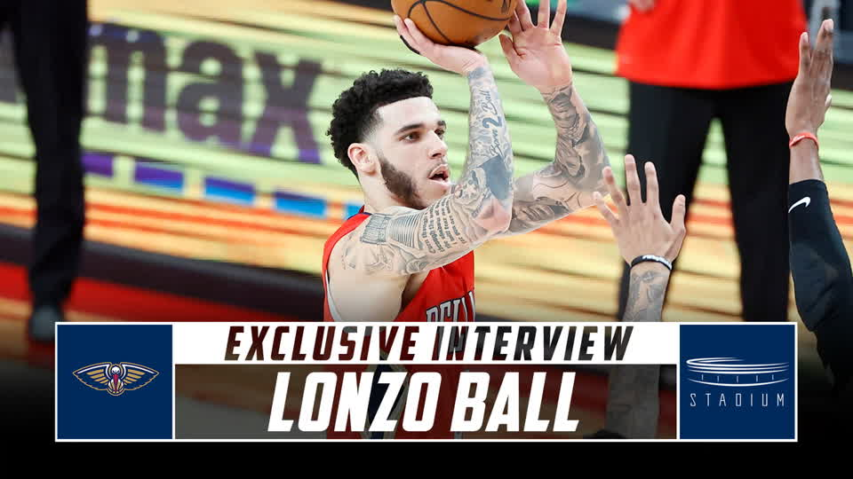 Lonzo Ball Talks Playing Against LaMelo, Growth in New Orleans With Shams Charania