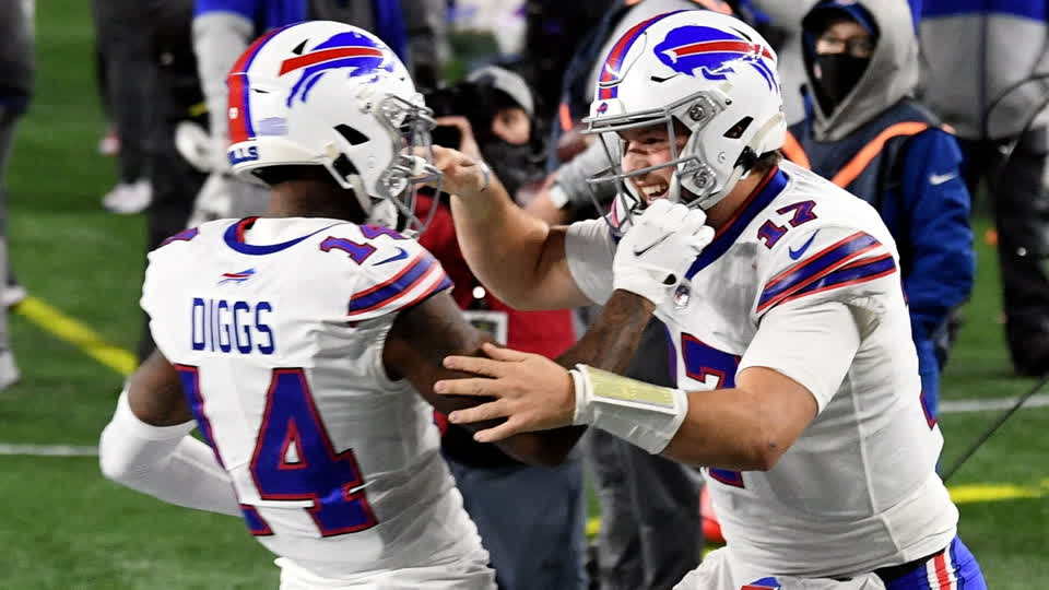 How Josh Allen and Stefon Diggs Can Improve in 2021