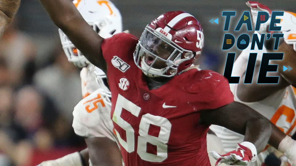 Alabama DT Christian Barmore NFL Draft Film Study