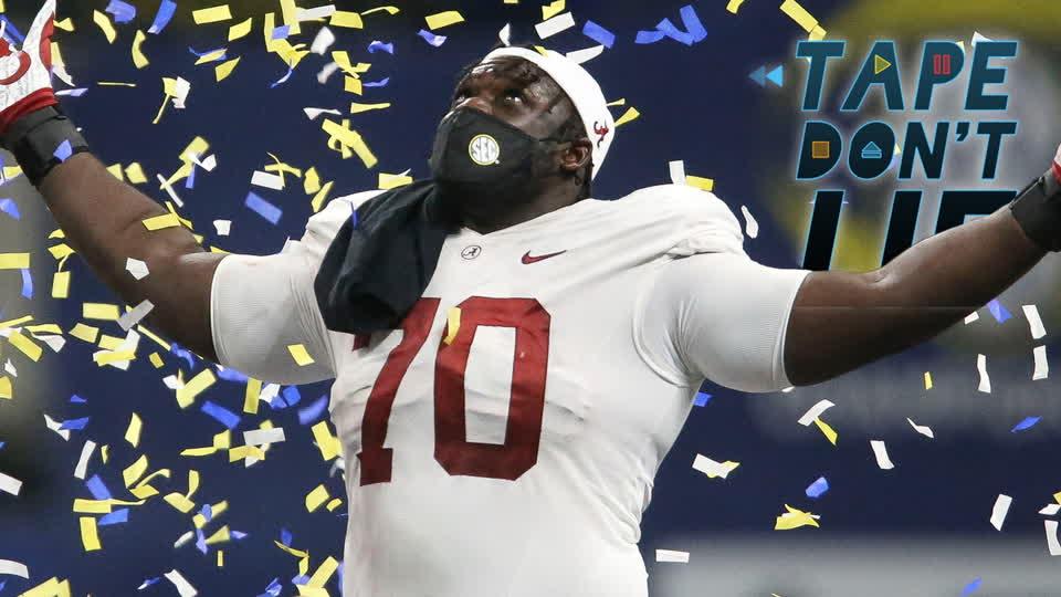 Alabama OL Alex Leatherwood NFL Draft Film Study