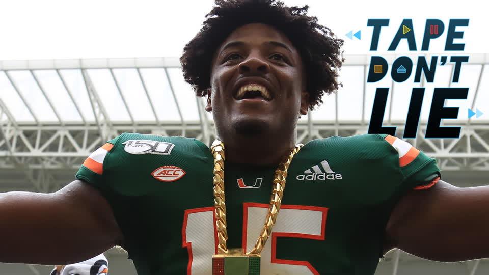 Miami DE Gregory Rousseau NFL Draft Film Study