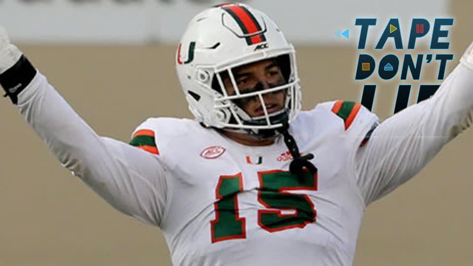 Miami DE Jaelan Phillips NFL Draft Film Study