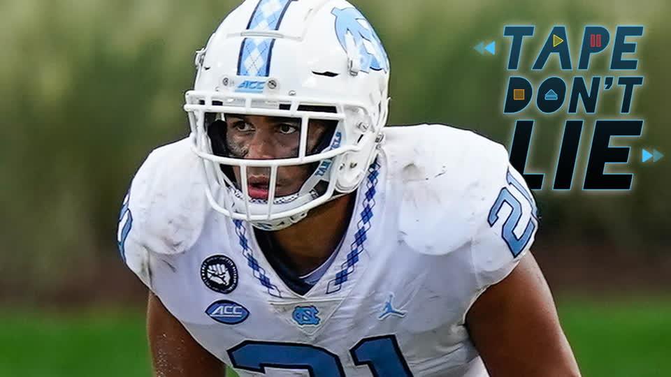 North Carolina LB Chazz Surratt NFL Draft Film Study