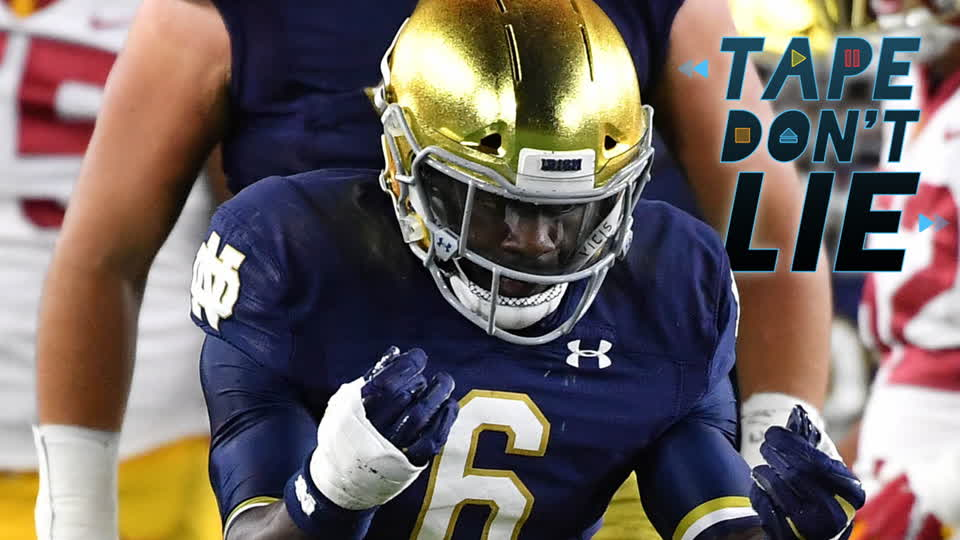 Notre Dame LB Jeremiah Owusu-Koramoah NFL Draft Film Study