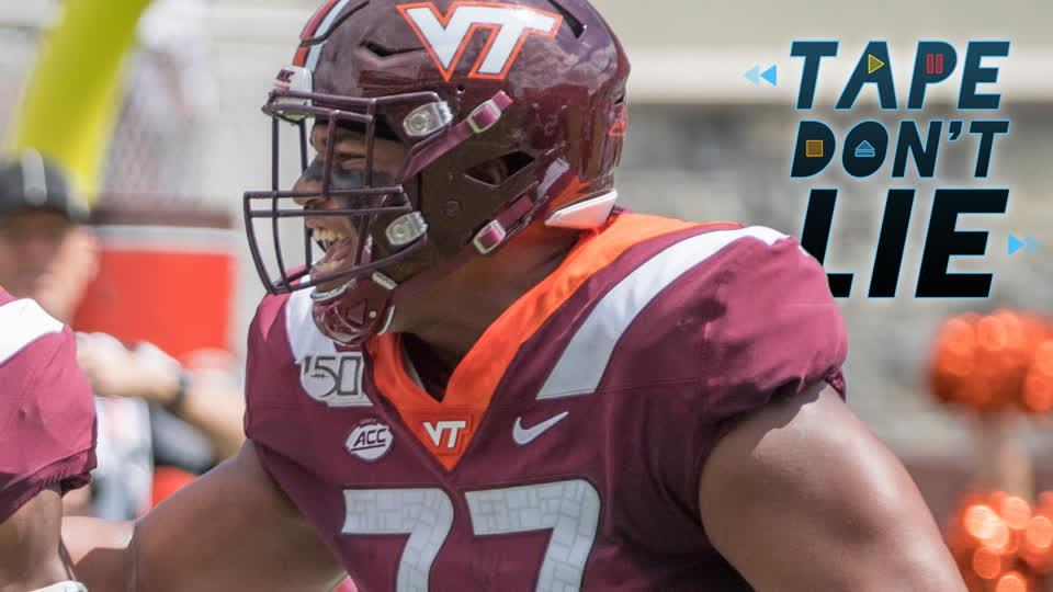 Virginia Tech OL Christian Darrisaw NFL Draft Film Study