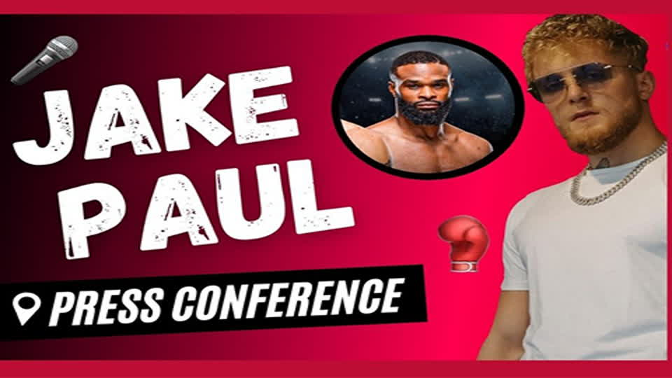 Jake Paul Teases Fit & Walkout Music For Tyron Woodley Fight