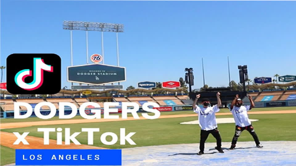 On-the-Field TikToks at Dodger Stadium