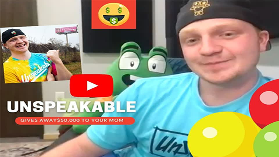YouTuber Unspeakable Gives Out Free Money For Mother's Day
