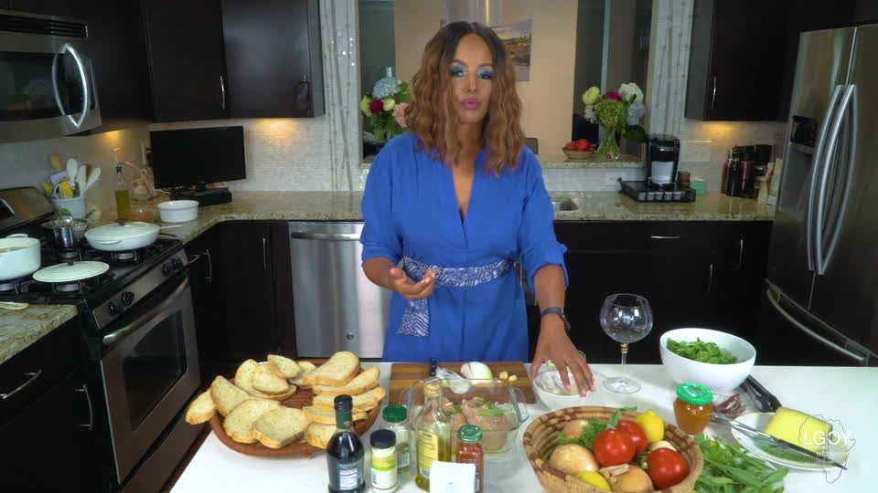 Cooking With Salome goes healthy