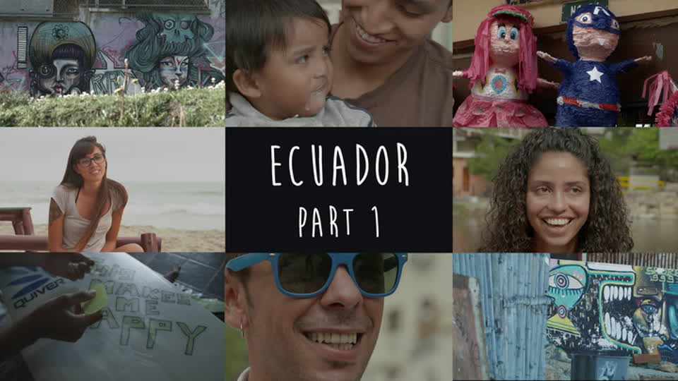 Chasing The Sun: Latin America S01 E07 - Ecuador Part 1: Smile And Pass It On
