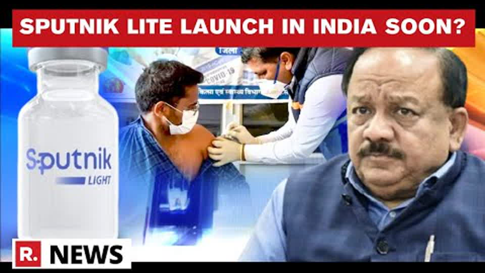 Sputnik Light's Speedy Launch Likely In India; Application For Regulatory Approval Soon