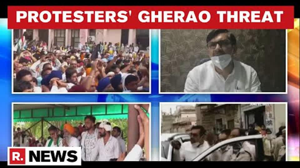 Haryana: Farmers Threaten To Gherao Police Stations In Fatehabad; Seek JJP MLA's Apology