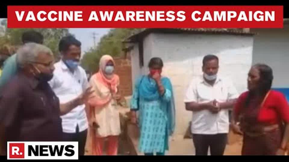 Karnataka Govt Steps Up Efforts To Increase COVID-19 Vaccine Awareness Amid Hesitancy In Rural Areas