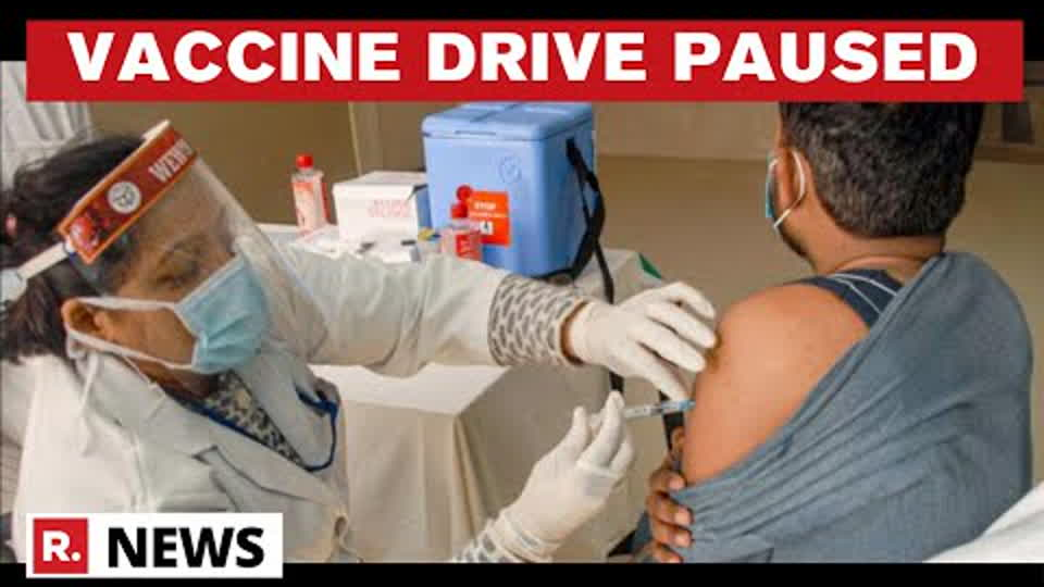 Mumbai: COVID-19 Vaccine Drive Paused Due To Unavailability Of Sufficient Number Of Doses