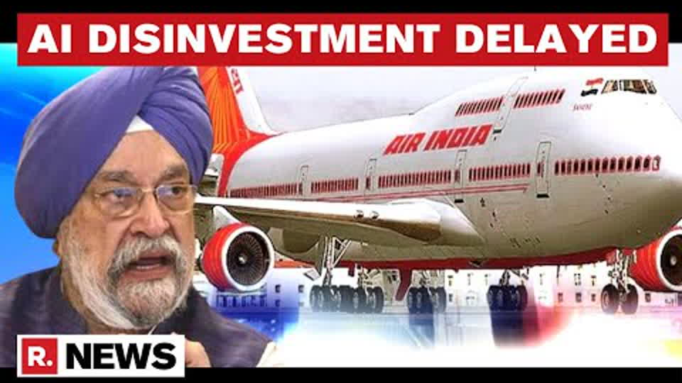 Air India Disinvestment Delayed Due To COVID-19, To Be Completed Within 2021: Centre