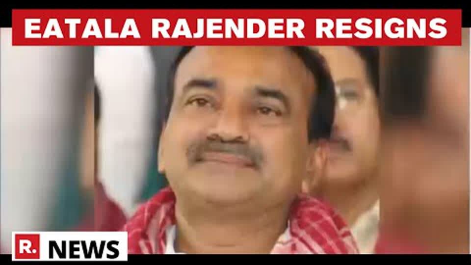 Big Blow For KCR As Ex-Aide Eatala Rajender Quits TRS & Telangana Assembly