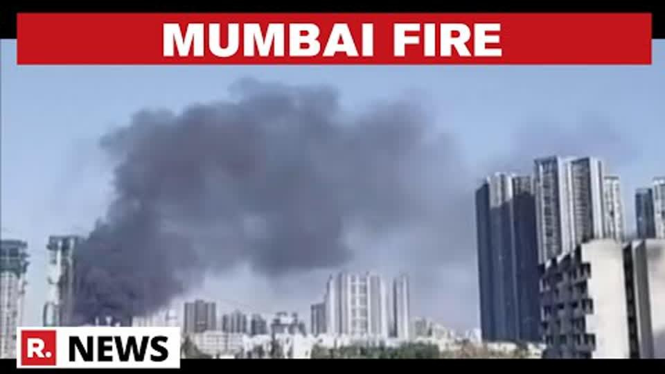 Maharashtra: Fire Breaks Out At Mumbai's Oshiwara Area, No Casualties Reported