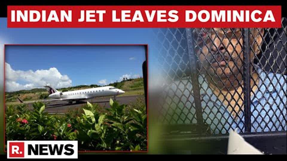 Mehul Choksi Case: India's Private Jet Leaves Dominica, Fugitive Remains In Police Custody