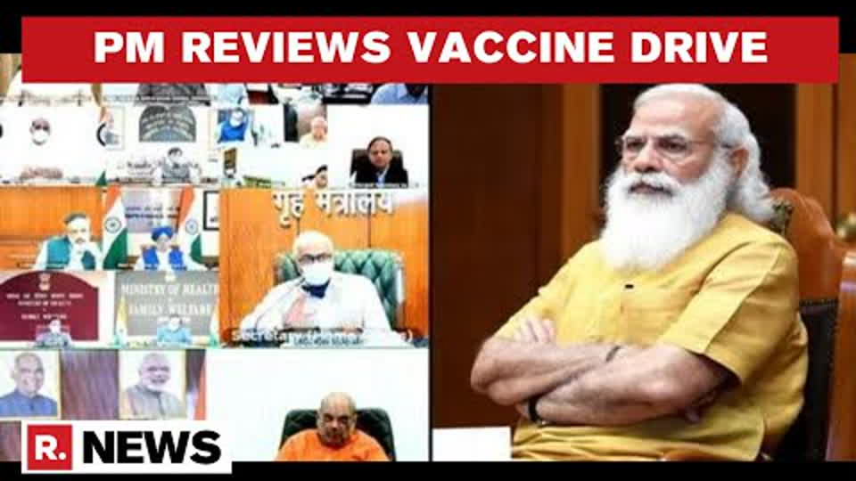 PM Modi Reviews COVID-19 Vaccination Drive; Urges States To Bring Vaccine Wastage Down