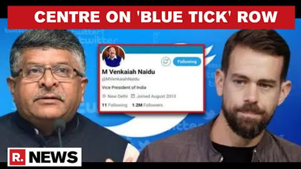 'Twitter Showed Blatant Disregard For Constitutional Process': Centre On 'Blue Tick' Row
