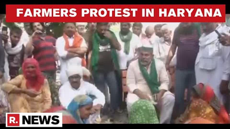 Haryana: Rakesh Tikait Leads Massive Protest In Tohana Demanding Release Of Arrested Farmers