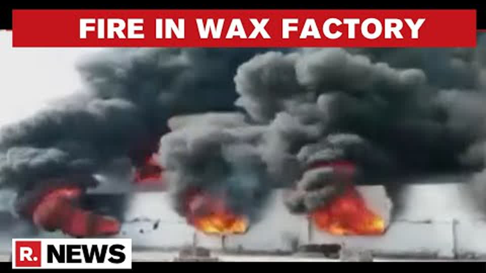 Uttar Pradesh: Fire Breaks Out At Moradabad's Wax Factory; 6 Fire Tenders Rushed To The Spot