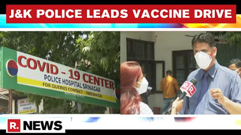 COVID-19: J&K Police Launch Vaccine Drive, Fully Inoculate 75% Personnel
