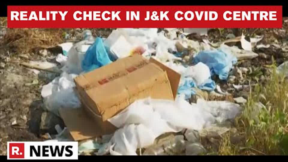 J&K: Unsafe Disposal Of PPE Kits And Syringes Spotted Outside Bandipora COVID Centre