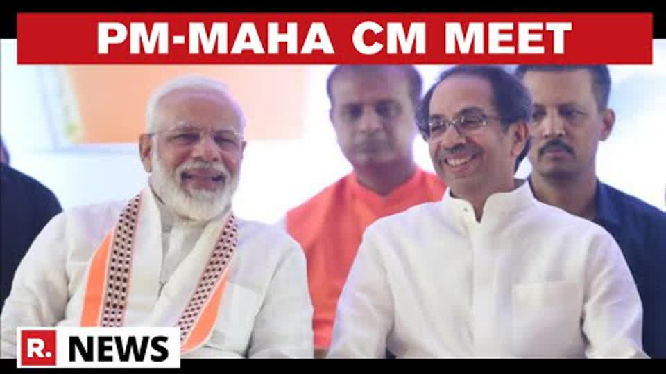 Maharashtra CM Uddhav Thackeray Reaches PM Modi's Residence To Discuss Maratha Reservation