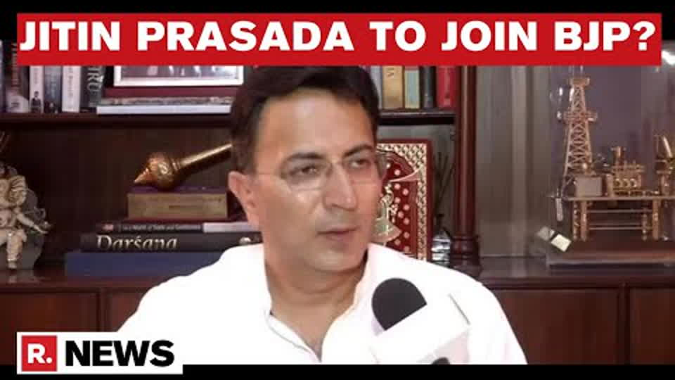 Senior Congress Leader Jitin Prasada To Join BJP Months Ahead Of UP Assembly Polls: Sources