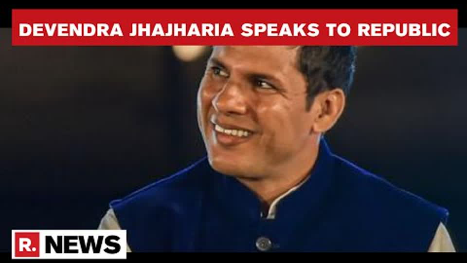 Star Javelin Thrower Devendra Jhajharia Breaks Record In Trial, Eyes Gold In Olympics | Republic TV