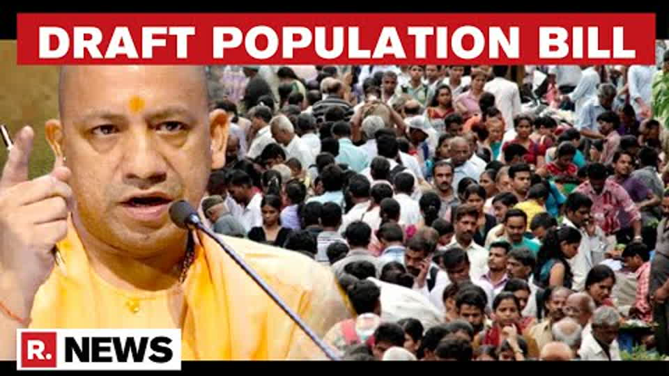 UP Law Panel Releases Population Bill Draft, Perks For Couples With Less Than 3 Kids | Republic TV