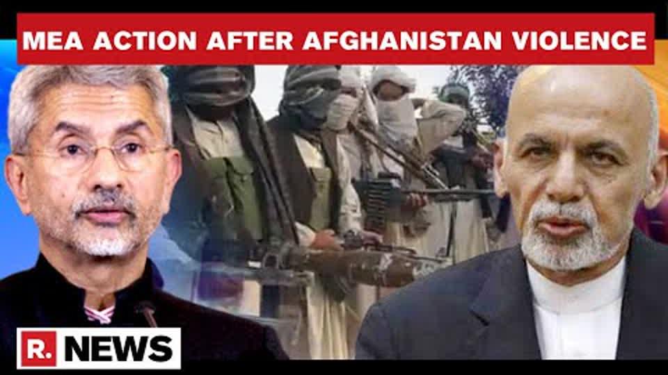 Indian Diplomates Repatriated Via Special Flights Amid Afghanistan Violence | Republic TV