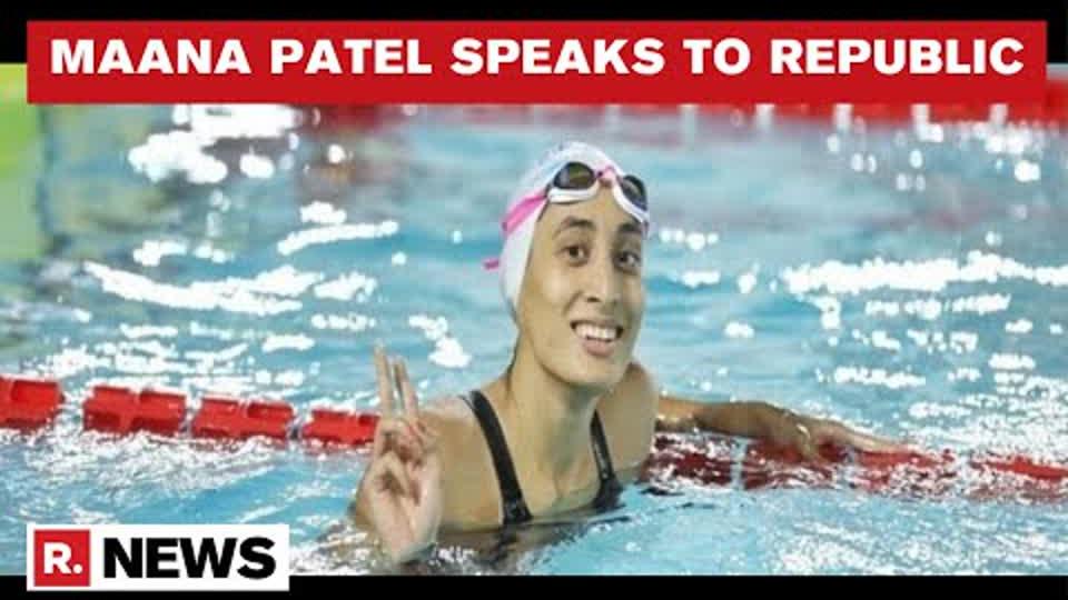 India's Star Swimmer Maana Patel Speaks To Republic, Talks About Her Journey So Far | Republic TV