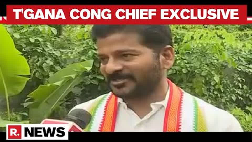 'KCR & Jagan Playing Politics Over Water': Telangana Congress Chief Revanth Reddy | Republic TV