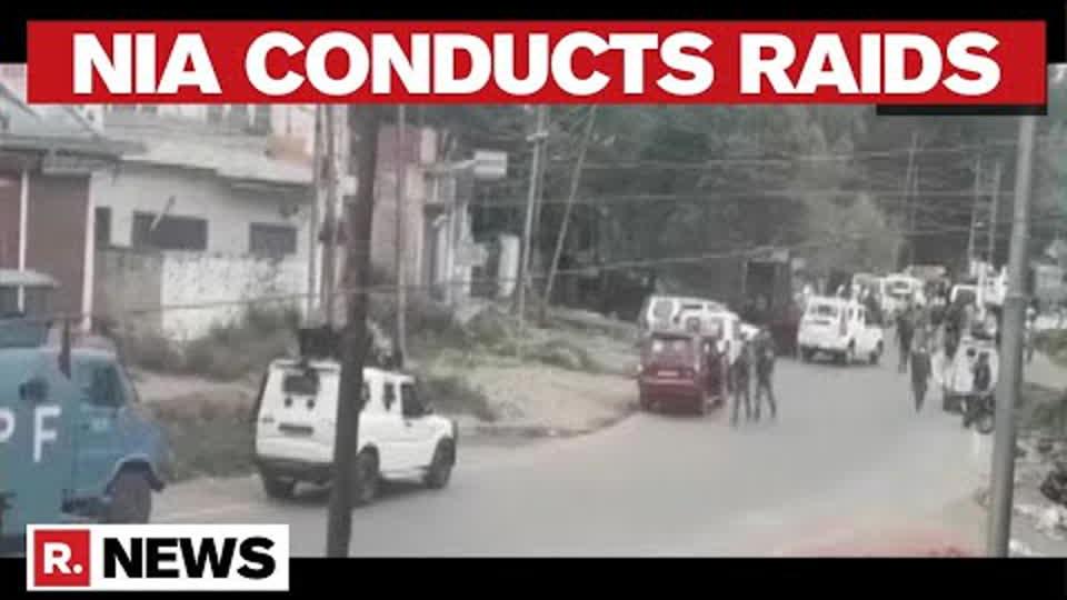 Terror Funding Case: NIA Carries Out Raids in J&K's Anantnag District | Republic TV