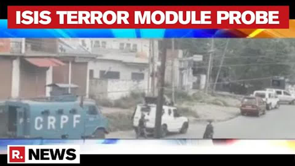 Terror Funding Case:  NIA, IB and R&AW Conduct Joint Ops, 6 Detained in J&K's Anantnag | Republic TV