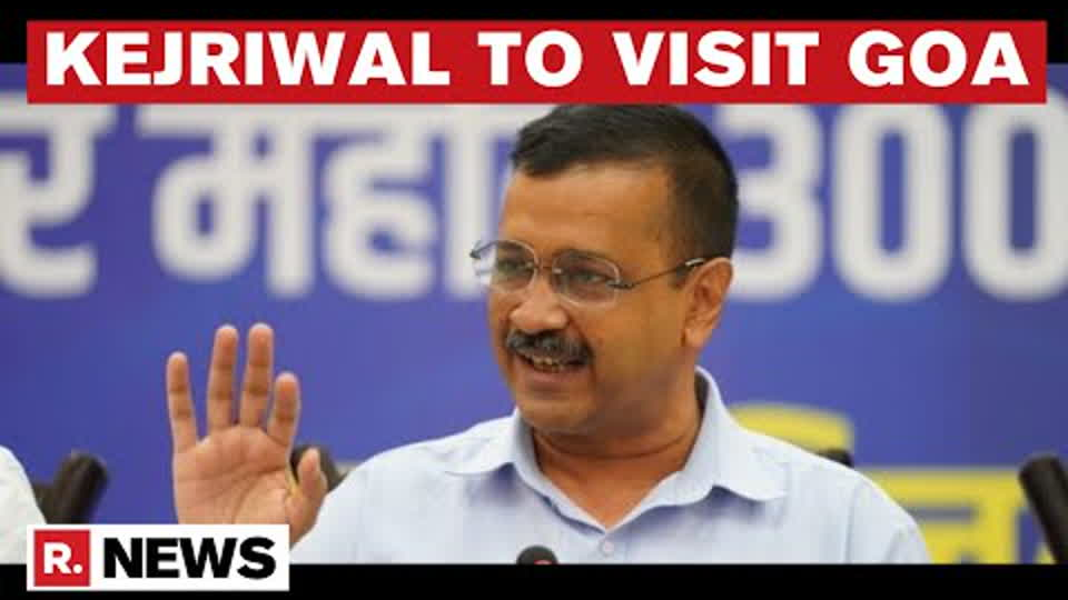 Delhi Chief Minister Arvind Kejriwal Set To Visit Poll-bound Goa On Tuesday | Republic TV
