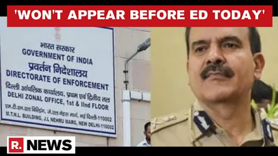 Former Mumbai CP Param Bir Singh Seeks More Time From ED, Cites Health Reasons | Republic TV