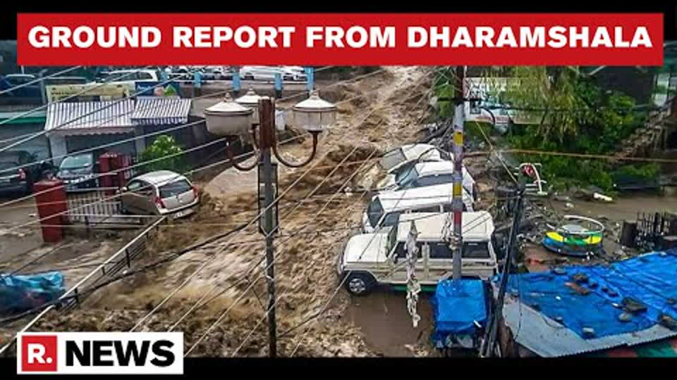 Cloudburst In Dharamshala: Vehicles Washed Away In Floods, Rescue Operations Underway | Republic TV