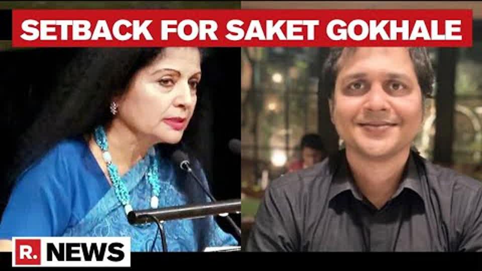 Delhi HC Orders Saket Gokhale To Take Down Defamatory Tweets Against Lakshmi Puri | Republic TV