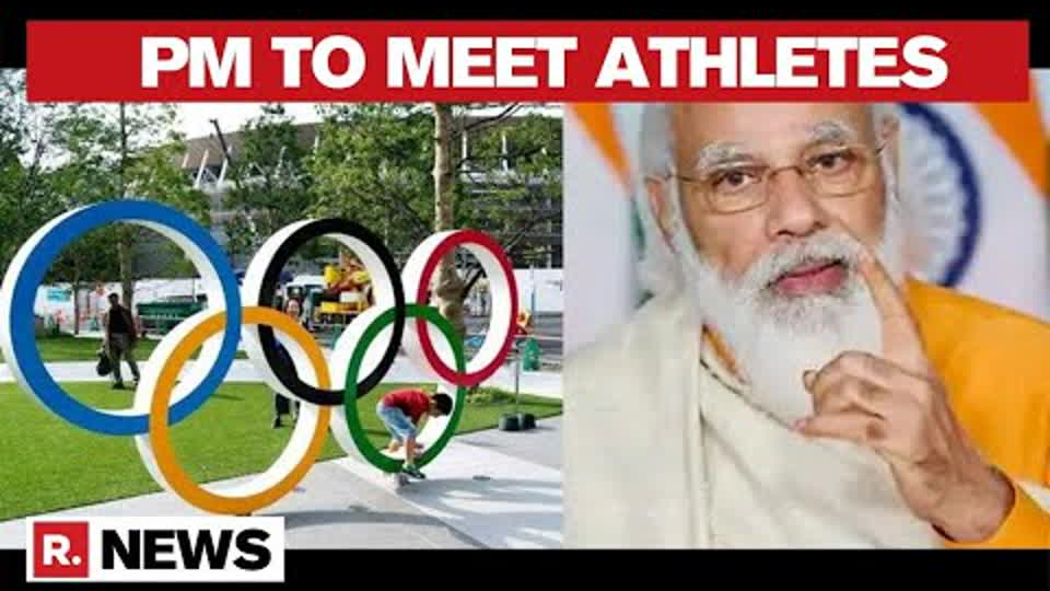 India's Tokyo Olympics-Bound Athletes To Interact With PM Modi At 5 Pm On July 13 | Republic TV