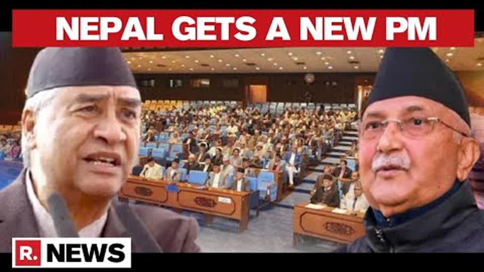 Sher Bahadur Deuba to Be Sworn-In as Nepal's Prime Minister, Will Replace KP Oli | Republic TV