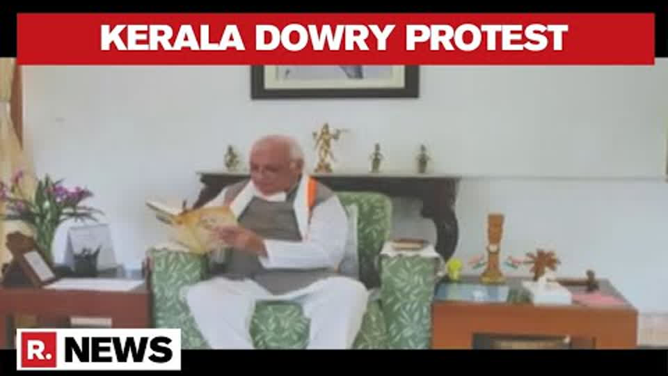 Kerala Governor Stages a Fast Against Dowry Practices in the Country | Republic TV