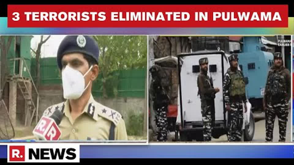 'Such Ops by NIA & J&K Police Are Important': IGP Kashmir on Pulwama Encounter | Republic TV