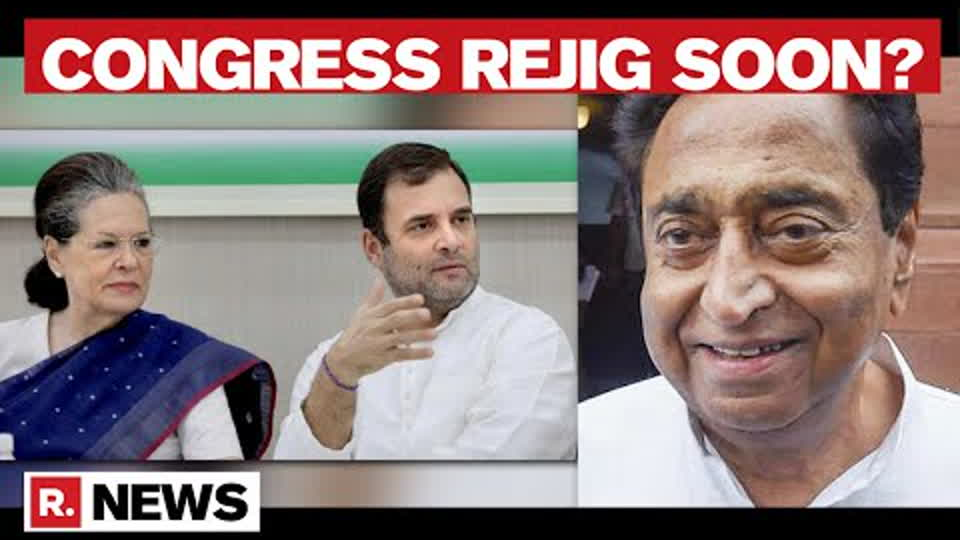 Congress Presidential Polls Likely After Monsoon Session, Kamal Nath Among Frontrunners: Sources