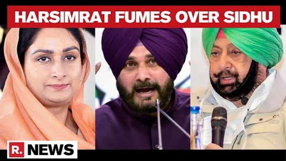 Punjab Congress Tussle: Harsimrat Badal Slams Navjot Sidhu, Says 'He Has Done Nothing For Punjab'
