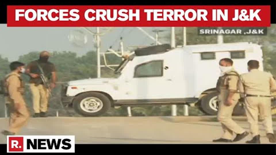 Srinagar: 2 Lashkar Terrorists Eliminated in an Encounter by Forces in Soura   Republic TV