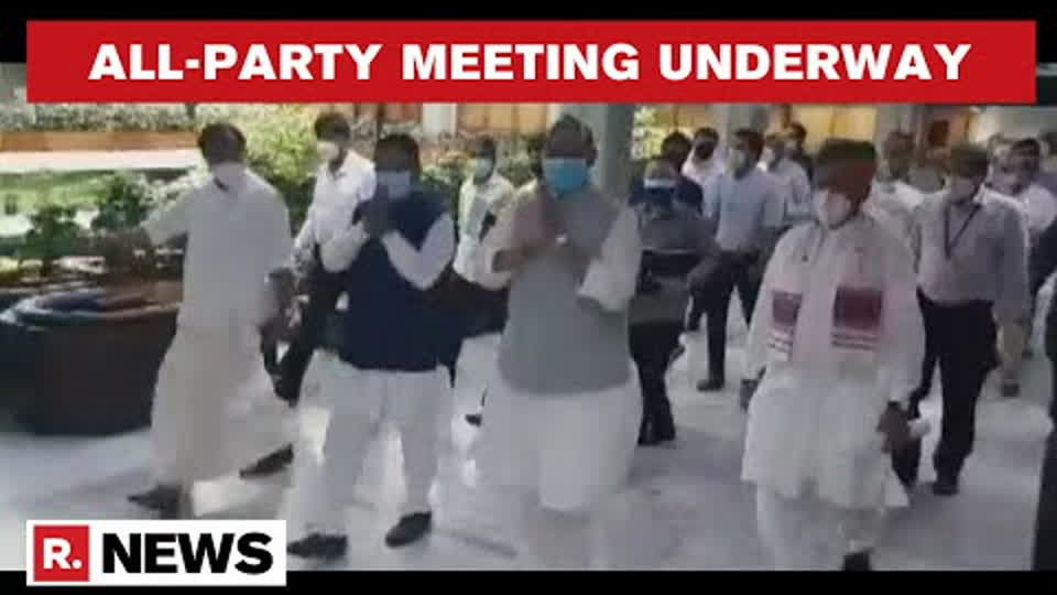 Centre Convenes All-Party Meeting In Parliament Ahead Of Monsoon Session   Republic TV